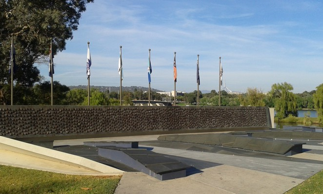 national police memorial, kings park, canberra, ACT, lake burley griffin, russell, boundless, playground, park, walks,