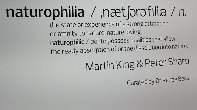 Naturophilia, Carlton Connect Initiative, University of Melbourne, Martin King, Peter Sharp, Sam Colcheedas, Renee Beale, Jacyl Shaw, Terinda Estate, art exhibition