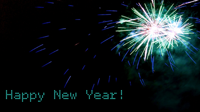 new years eve, happy new year, fireworks
