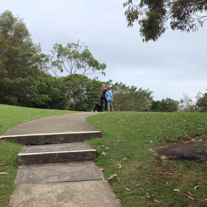 pathway through Little Manly Point Park