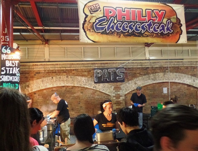 Pats The Philly Way @ queen victoria market
