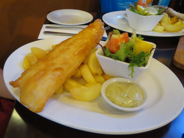 Paul's on Gouger, Battered King George Whiting, Adelaide