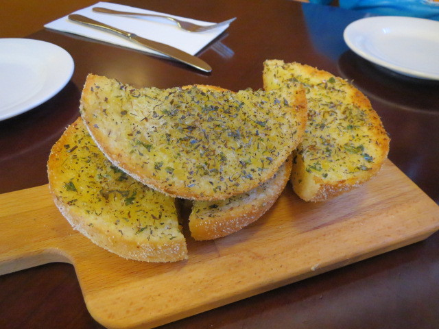 Paul's on Gouger, Herb Bread, Adelaide