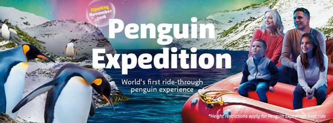 Penguin Expedition, Sea Life Sydney Aquarium