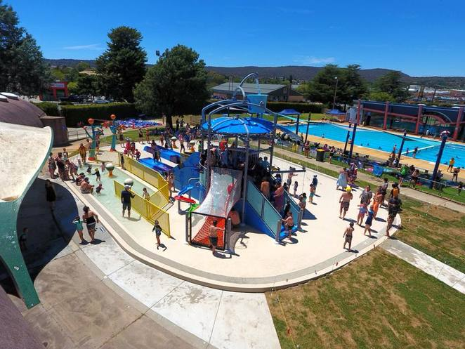 queanebyan pool, NSW, ACT, swimming pools, canberra, splash parks, water, kids, school holidays,