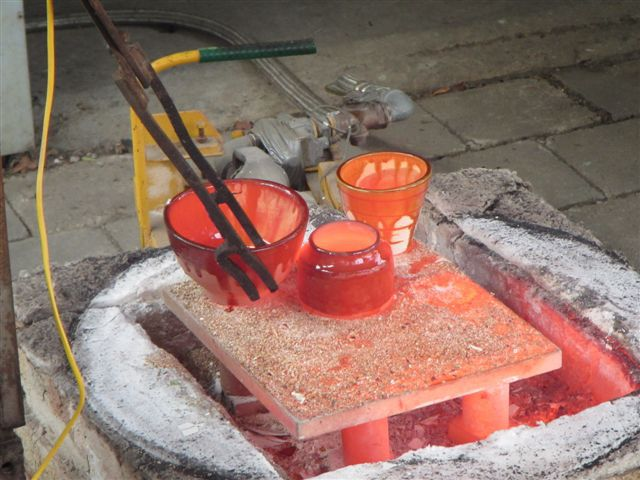 Raku, SALA, Studio Potters, Ice and fire