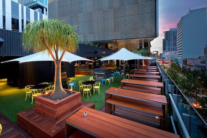 Rooftop Bar at The Aviary