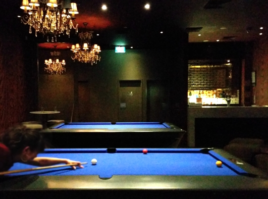 Sanctuary Hotel Pool Tables