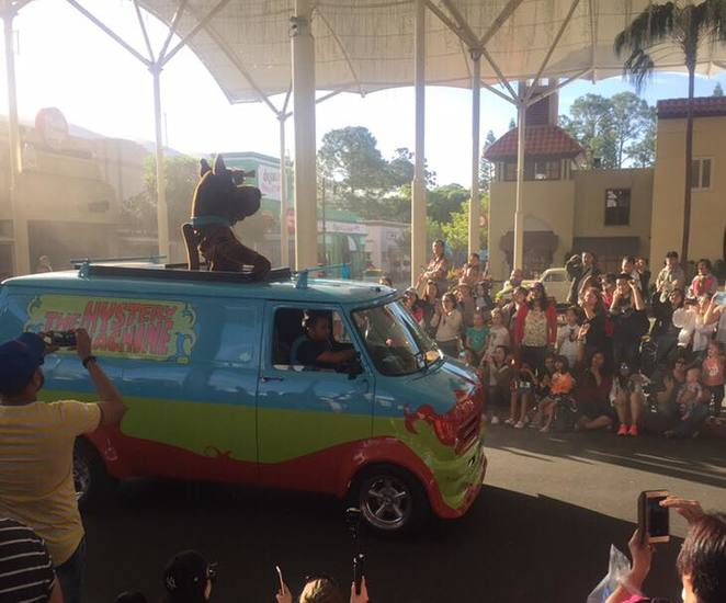 scooby doo, movie world, queensland, rollercoaster