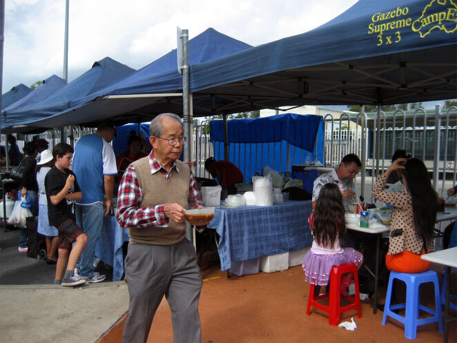 The Woodridge Sunday Markets is the closest thing to Asian street food you will find in Brisbane, with plenty of other world street food as well