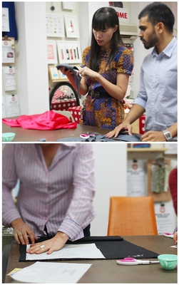 sew make create, sewing course, beginner, man can sew