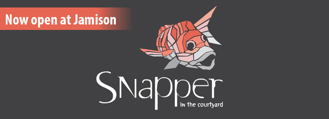 snapper in the courtyard, canberra, ACT, fish and chips, canberra, canberra southern cross clubs, best fish and chips,