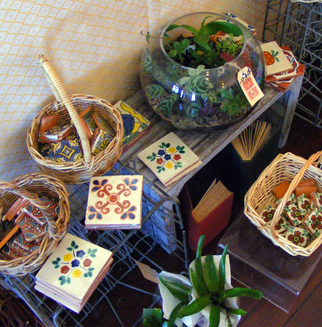 There are a wide variety of gifts and curios for sale at StudioRosa