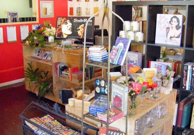 StudioRosa has flowers, gifts, books and more
