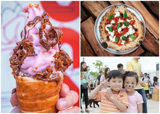 the commons street feast, food trucks, canberra, december, kids, families, ACT, december 2017,