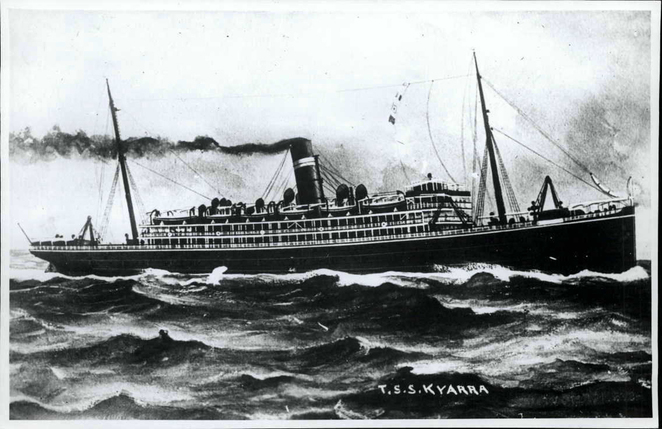 The Kyarra like the Ballarat and many other transport ships, suffered an undeserved fate before war's end