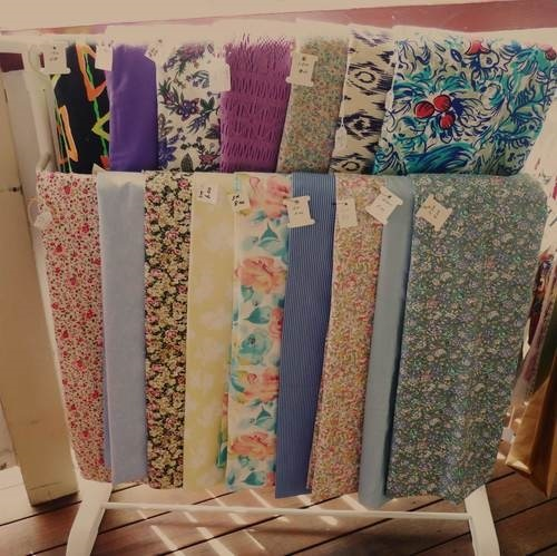 the nest, haberdashery, shop, fabrics, material,