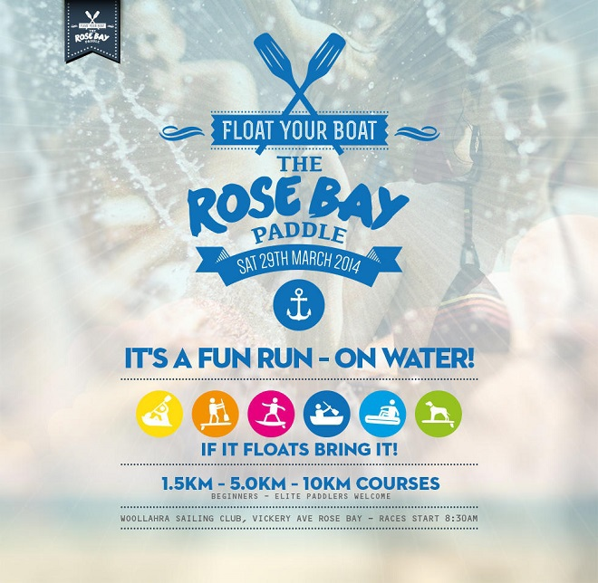 the rose bay paddle, float your boat, water sports eastern suburbs, sydney harbour water sports