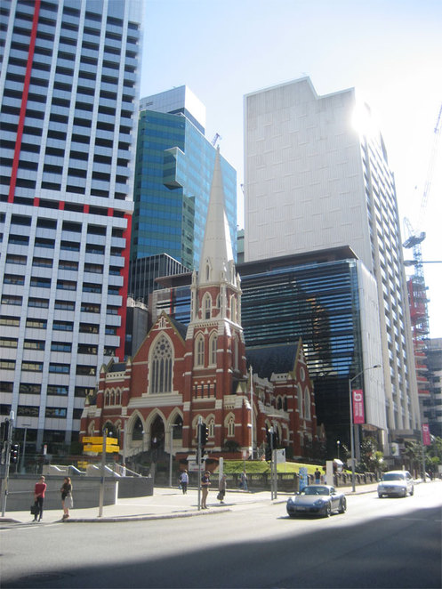 One of the churches to visit on the BrisBeat Tour
