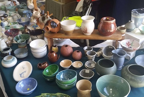 various,stages,of,pottery,making