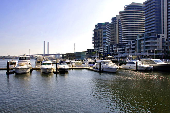 Victoria Melbourne Docklands Around The World Yacht Yachts Yachting Sail Sailing Race Races Racing