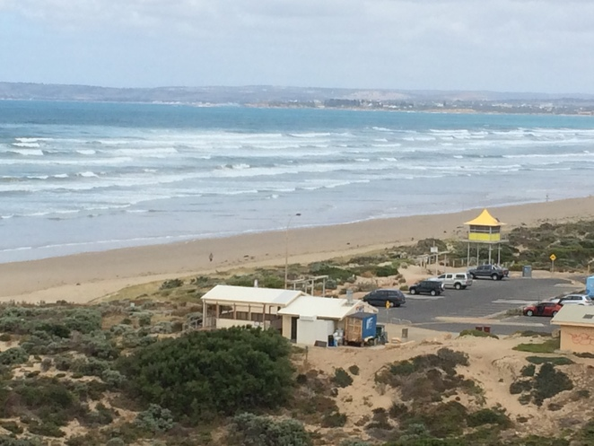Views along the south coast from Goolwa Dune Walk lookout