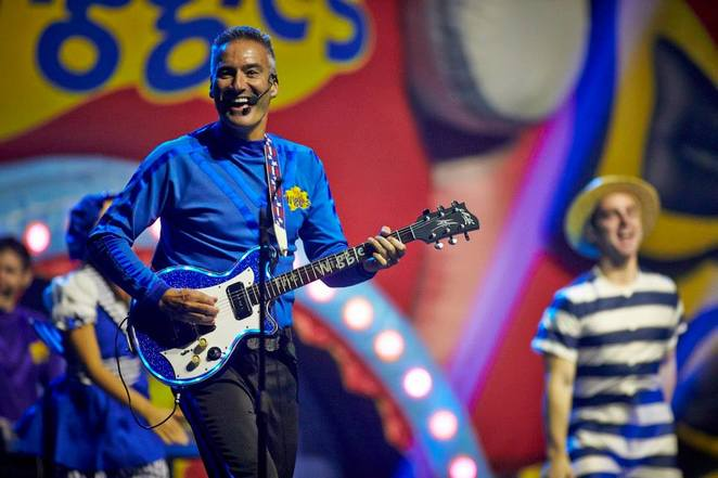 Wiggles, Wiggle pop big tour, anthony wiggle, children, music, entertainment,