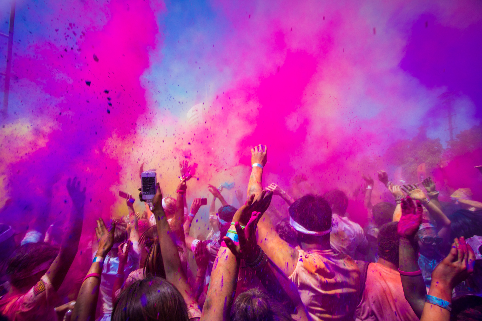 wyndham holi festival of colours 2017 melbourne