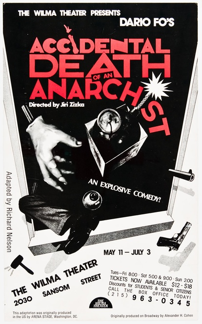 Accidental death of an anarchist, original play by Dario for her campus USCAU, USC, university of the Sunshine Coast