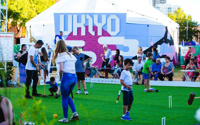 adelaide fringe venues, adelaide fringe festival, fringe festival, adelaide fringe, fringe hubs, live on 5 adelaide oval, royal croquet club, garden of unearthly delights, adelaide oval, fun for kids