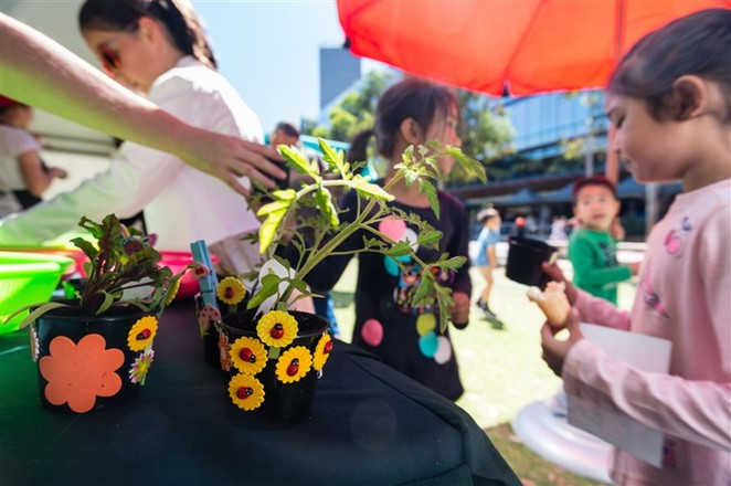 Art For The Planet 2: Field, Darling Quarter, Fun for Kids, School Holiday Activities