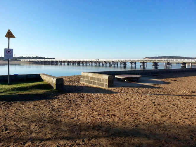 Barwon Heads River Beach