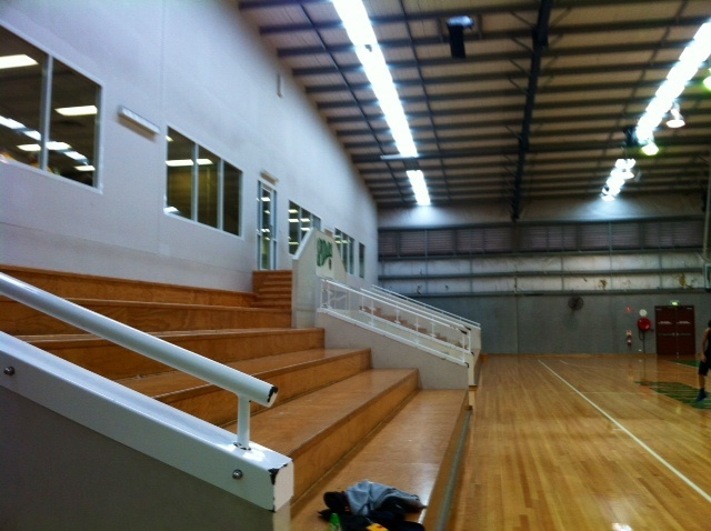 Basketball, courts, ball, hire, seating, sports, cafe