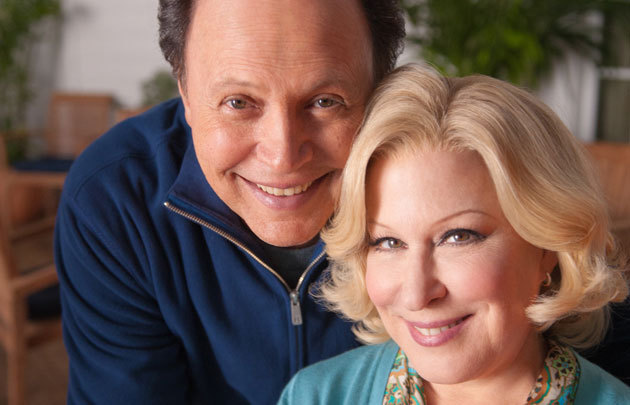 Billy Crystal and Bette Midler