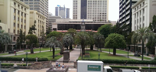 Brisbane CBD, City Hall. Exhibitions, Brisbane Museum, Anzac Square, Botanical Gardens, Old Government House, Customs House, Churches, Ferry, River, Markets