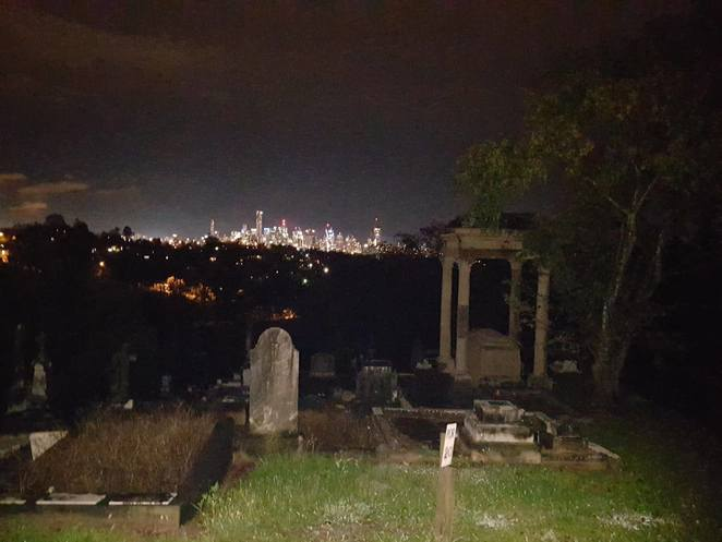 Brisbane View, Toowong Cemetry, Ghost Tours