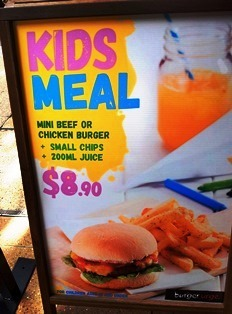 burger urge, burgers, kids, meal deal