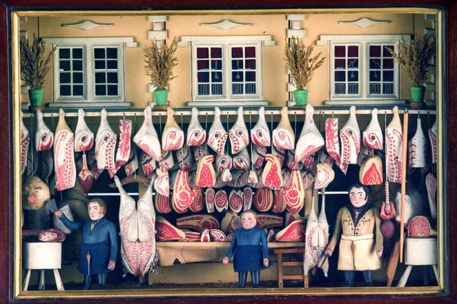 The Butcher shop diorama