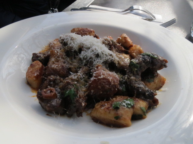 Carrick Hill Cafe, Oxtail Gnocchi, Adelaide