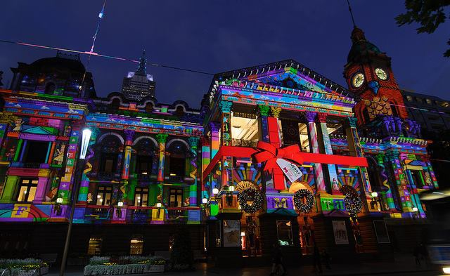 City Of Melbourne Christmas Festival 2013