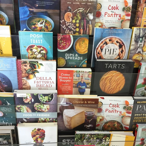 Cooking,books,at,Fresh,Provisions