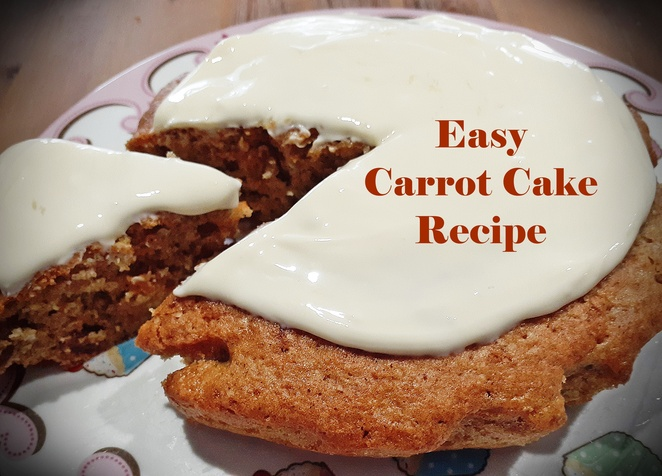 easy, carrot cake, recipe, kids, nut free, family, baking, cakes, carrot cake recipes, grandmas recipes, ingredients, grated carrot, sultanas, flour, mixed spice, eggs, cream cheese, frosting, icing, icing sugar, vanilla essence, australia,