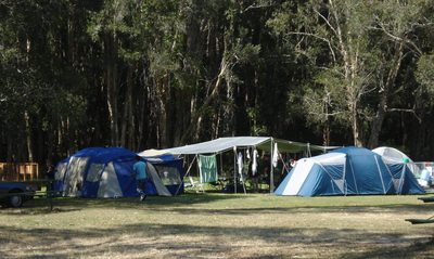 elanda point camping ground, cooloola