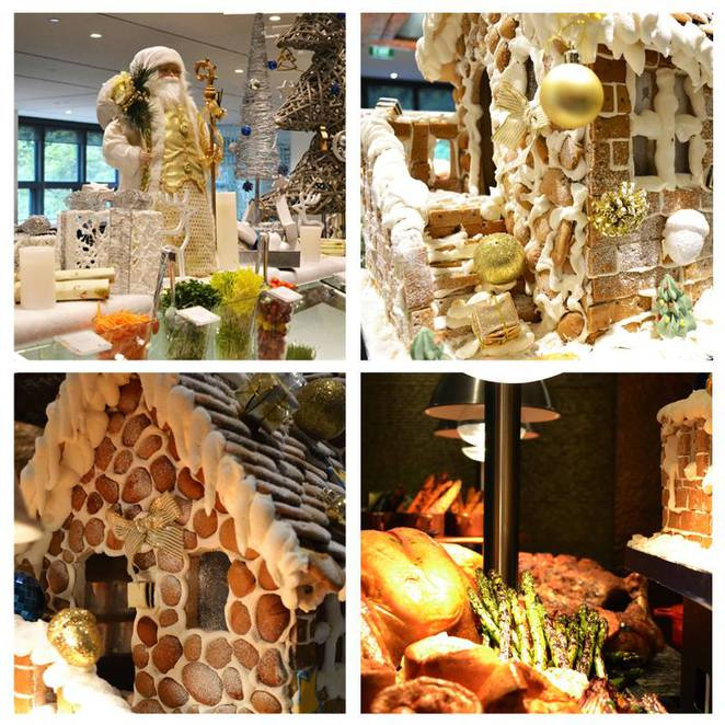 Feast, Sheraton on the Park, gingerbread house