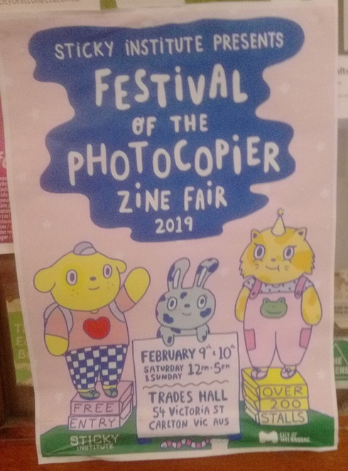 Festival of the Photocopier poster