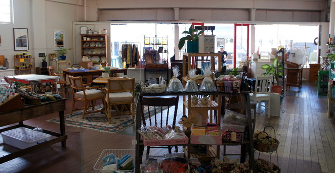 Gift shopping at the Queen B's Collective in Forest Hill