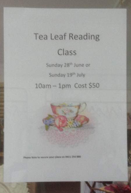 Tea Reading Lessons