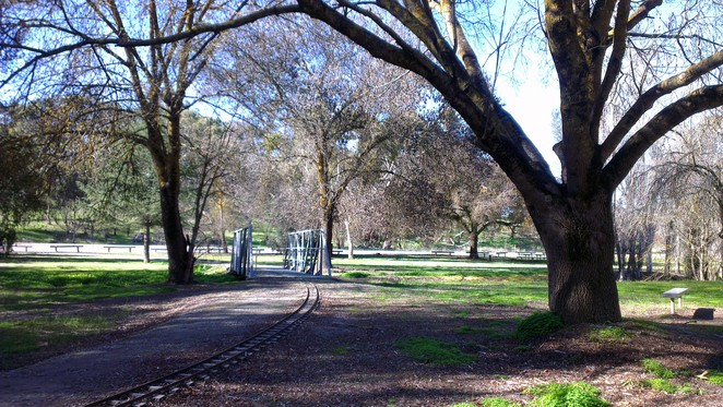inchiquin lake, clare, clare valley, miniature railway