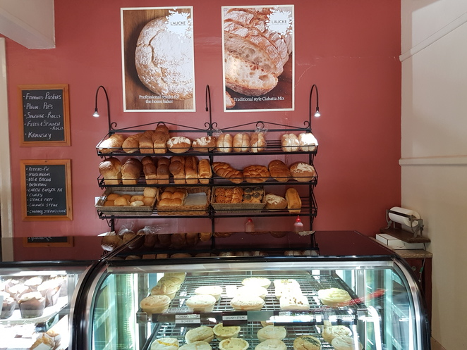 Kupsch Bakery, Crystal Brook, South Australia, food