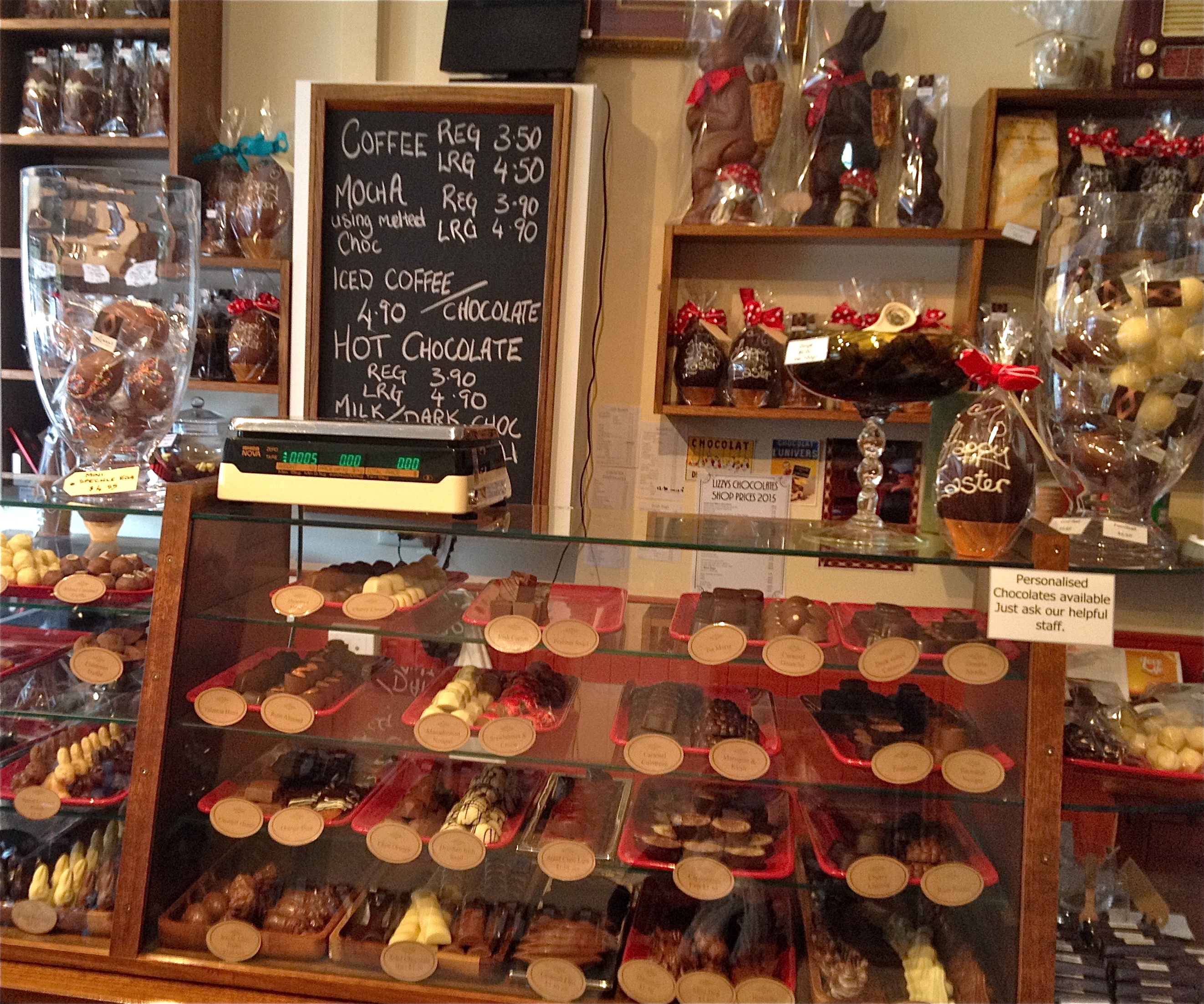Melbourne easter weekendnotes lizzys chocolates negle Images